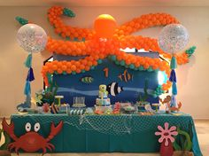 Under the sea sweet table