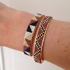 Loomed bracelets