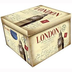 London Themed Large Collapsible Storage Box   Storage Boxes at The Works Part of the 2 for £10 deal at the moment. Otherwise, £7