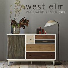 Patchwork Dresser: A West Elm-Inspired IKEA Hack | Apartment Therapy
