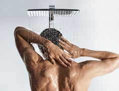 Hansgrohe Overhead shower.