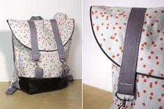 """Rucksack """"Pakke"""" genäht von DIY Eule: http://de.dawanda.com/product/92355975-schnittmuster-rucksack-pakke-pdf-ebook"""