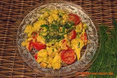 Indisch Marinierter Blumenkohl roh-vegan - Ich habe Currygerichte schon immer geliebt. Dieser köstliche, orientalische Geruch, der die Sinne verzaubert...:)