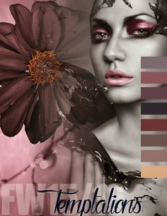 Trends // Colorworld (Csi + Dystar) - Fall/Winter 2015-16 Color Inspirations - Redefined + Temptations