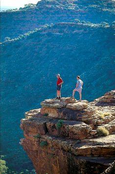 b5556167233f Hiking at Kings Canyon in Australia.