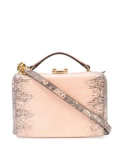 Discover women's designer mini bags at Farfetch from the world's greatest labels to emerging designers. Find bold logos, fine leather and embellishment. Mark Cross, Grey Leather, Pink Grey, Mini Bag, Chai, Hand Bags, Design, Handbags