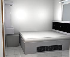 Proyek Pengerjaan Desain Interior Apartemen Kalibata - Desain Interior Furniture Apartemen