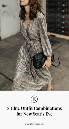 There are a ton of amazing winter dress trends this year, so you'll definitely want to familiarize yourself with the key styles! Check out this list for 12 of our favorite trends. Nye Outfits, Party Dress Outfits, Winter Dress Outfits, Night Outfits, Outfit Winter, Party Clothes, Vegas Outfits, Birthday Outfits, Woman Outfits