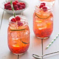Peach-Raspberry Iced Tea