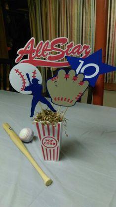 Baseball Centerpiece 4 All Star Baseball by MyThreeSonsByKristin