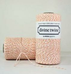 Peach Divine Twine : Drygoods Design