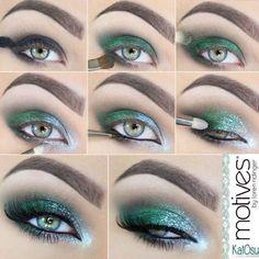 Sombra verde brillante