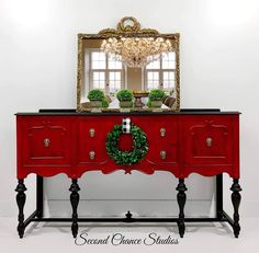 Here at Second Chance Studios we specialize in beautiful hand painted vintage furniture and decor. Purchase one of our pieces, or contact us about making a custom one of a kind piece for you! Chalk Paint Furniture, Furniture Projects, Furniture Makeover, Diy Furniture, Furniture Quotes, Chinese Furniture, Furniture Logo, Furniture Layout, Furniture Arrangement