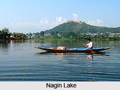 Nagin Lake is the smallest lake in Kashmir Valley that shares water from Dal Lake through an adjoining channel. For more visit the page. #kashmir #hillstation #travelindia