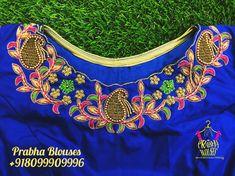 Blouse Desings, Wedding Saree Blouse Designs, Hand Work Blouse Design, Maggam Works, Dress Models, Indian Designer Wear, Boat Neck, Party Wear, Embroidery Patterns