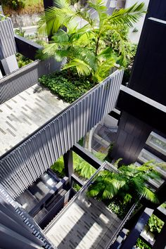 WOHA is a Singapore-based architecture practice, founded in 1994 by Wong Mun Summ and Richard Hassell. Landscape Architects, Green Architecture, Indoor Outdoor, Outdoor Decor, Singapore, Skyscraper, Condo, Patio, Urban
