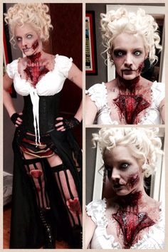 Jack the Ripper Victim makeup and costume by Cassie Ways at Alter Ego SPALON