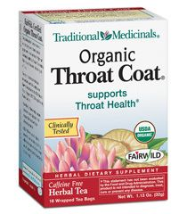 Throat Coat ... incredible for sore throats!