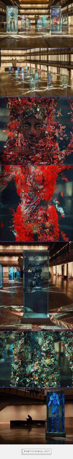 Dustin Yellin Psychogeographies @ New York City Ballet | Trendland | ♥♥♥ SO SUBLIME DESIGN ♥ ♥ ♥ #art #design #sodesign