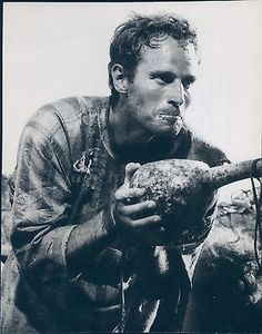 1961 Photo Charlton Heston Prince Ben Hur MGM Hollywood Theater Actor Dirty