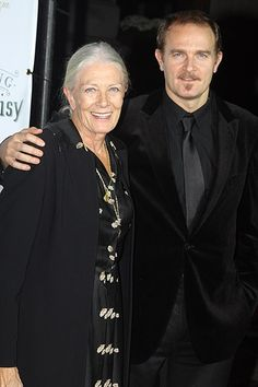 Vanessa Redgrave with Carlo Nero her son by current husband Franco Nero.