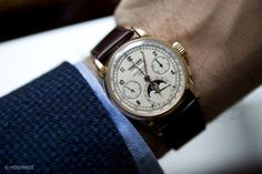 Patek Philippe First Series Perpetual Calendar Chronograph Reference 2499 in Pink Gold