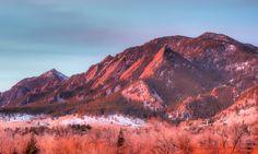 Flatirons Mountains, Colorado