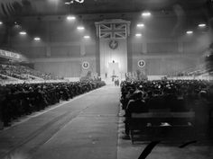 British Union of Fascists Rally: Exhibition Hall, Earls Court, London, July 16th, 1939