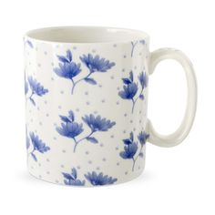 Blue Room Mug, Chintz, Blossom, Spode