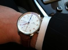 The PAUSE Guide to Smart-Casual: Wear a watch
