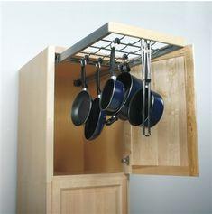 Pot and Pan storage option