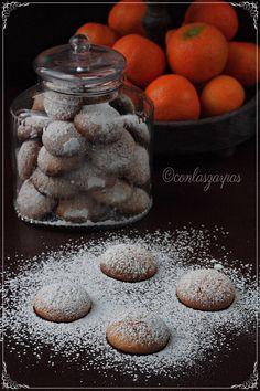 Galletitas de mandarina {by Paula, Con las Zarpas en la Masa}