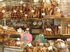 Love, love, love French boulangeries.