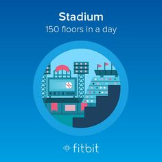 I climbed 150 flights of stairs and earned the Stadium badge! Fitbit Badges, Looking Back, Flooring, Day, Fitness, Fit Bit, Life, Stairs, Australia