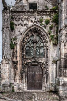 ~ Medieval Doorway, Senlis, France by tonybill ~