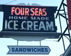 Four Seas Ice Cream Centerville, Massachusetts