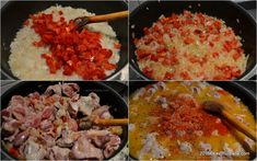 Grains, Rice, Meat, Chicken, Food, Red Peppers, Essen, Meals, Seeds