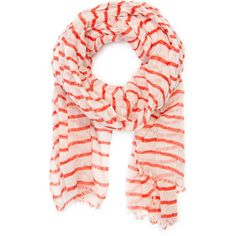 Cotton Sailor Style Foulard ❤ liked on Polyvore
