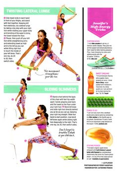 "Get a poppin' booty from Jennifer ""JJ Dancer"" Johnson with this bootcamp (you'll thank us later). #CosmoBody #Cosmo"