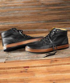 Effortlessly Cool Men's Shoes - Brooklyn Boot - Carbon2Cobalt
