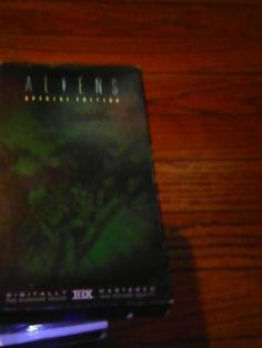 * ALIENS * SPECIAL EDITION ON VHS