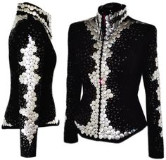 Lisa Nelle Show Clothing — Focal Points Jacket M Western show clothing at its best!