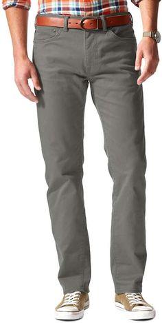 Dockers Jean Cut D2 Straight-Fit Stretch Twill Pants