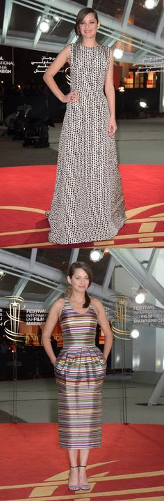 Fabulously Spotted: Marion Cotillard Wearing Christian Dior Couture - 2013 Marrakech International Film Festival Opening Ceremony & 'A Thousand Times Good Night' Premiere - http://www.becauseiamfabulous.com/2013/12/marion-cotillard-wearing-christian-dior-couture-2013-marrakech-international-film-festival-opening-ceremony-a-thousand-times-good-night-premiere/