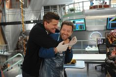 It's not all about cracking cases on the set of Bones. Bones Serie, Bones Tv Series, John Francis Daley, Booth And Bones, Booth And Brennan, Best Tv Shows, Best Shows Ever, Favorite Tv Shows, Emily Deschanel
