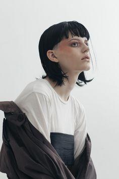 Hannah @ Chadwick Models con el estilismo de Blake Sutherland por George Sandaman Popov ph.