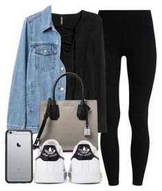 """""""#14027"""" by vany-alvarado ❤ liked on Polyvore featuring Gap, MICHAEL Michael Kors, adidas and OtterBox"""