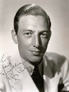"RAY BOLGER (1904 - 1987) The ""Scarecrow"" in the Wizard of Oz. Wonderful dancer...."