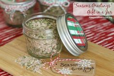 One of the gifts we're excited to share with our friends and neighbors this Christmas is a flavorful All-Purpose Seasoning Mix that's perfect for seasoning poultry, seafood and veggies. In fact, the recipe is based on the seasoning I use for my Savory Slow Cooker Roast Chicken.