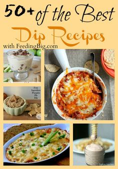 When family and friends are over, you want to make sure you feed them well! Fix one of these dip recipes and and make them happy!